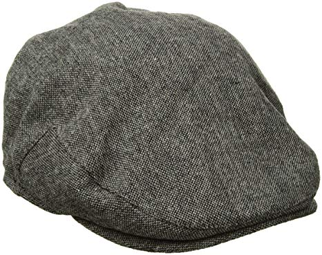Country Gentleman Men's Ainsley Flat Ivy Cap with Ear Laps
