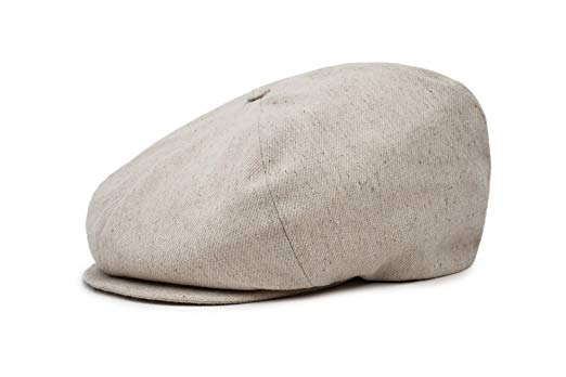Brixton Men's Ollie Oversized Newsboy Hat