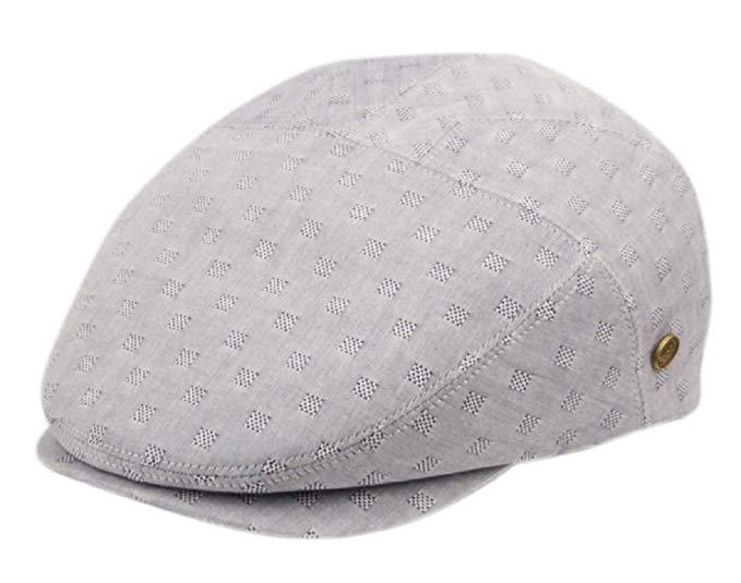 Epoch Men's Cotton Flat Ivy Caps Summer Newsboy Hats
