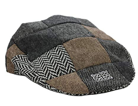 Patrick Francis Men's Ireland Tweed Flat Cap