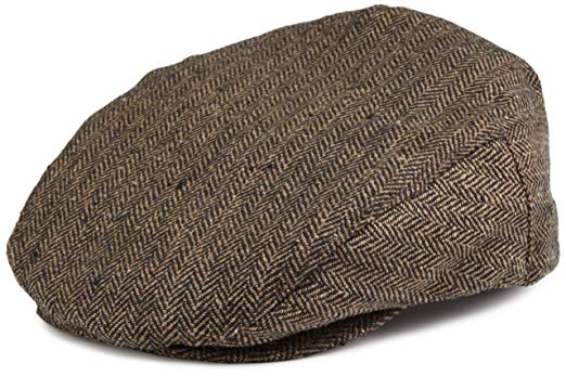Brixton The Hooligan Hat in Brown