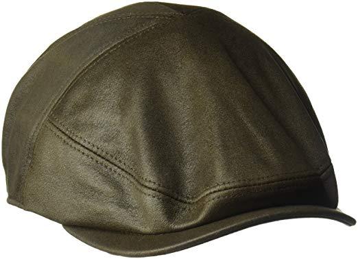 Country Gentleman Men's Parker Palneled Ivy Flat Cap