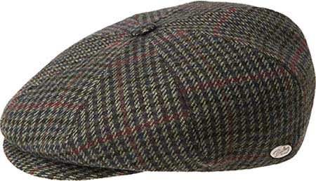 Bailey of Hollywood Men Galvin Plaid Ivy Cap