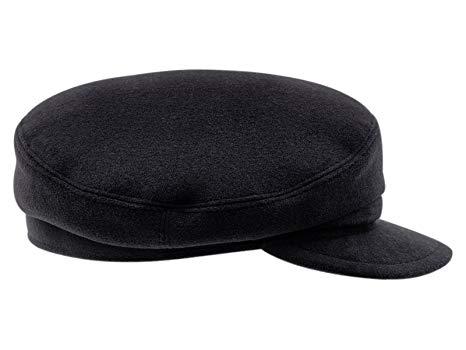 Warm Wool Blend Petersham Fiddler Cap