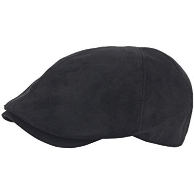RaOn G67 Men Big Plus Size Plain Suede XL XXL newsboy Cap Cabbie Flat Golf Gatsby Hat
