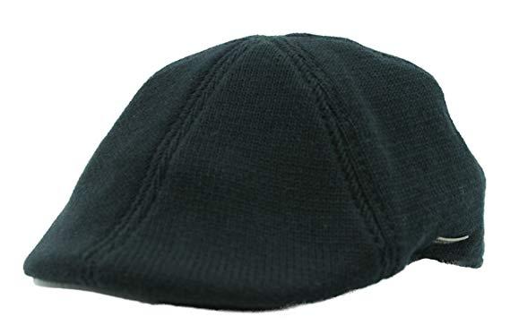 Stetson Muskagon Knitted Cotton Duckbill Flat Cap