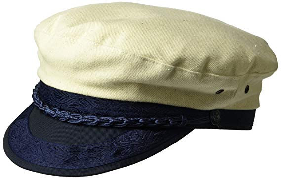 Country Gentleman Men's Canvas Greek Fisherman Cap Hat