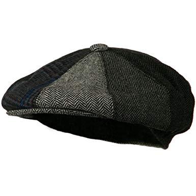 Men's Multi-tone Wool Apple Cap - Grey W16S52C