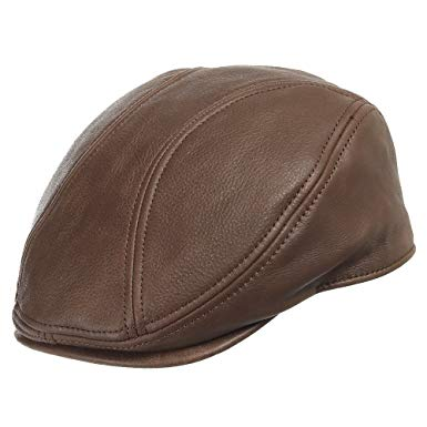 ROADMASTER DRIVING CLASSIC Leather Unique Ivy Caps Hat Dress ALL SIZES