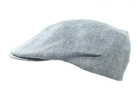 Biddy Murphy Men's Summer Hat Three Panel Irish Linen Made in Ireland