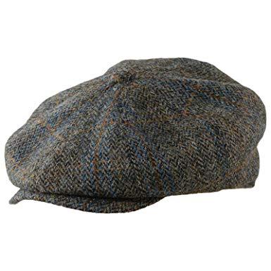 Sterkowski Vintage Style Peaky Blinders Cap Harris Tweed