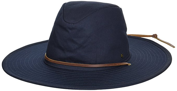 Brixton Men's Ranger II Wide Brim Cotton Fedora Hat