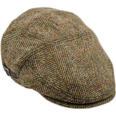 Sterkowski Harris Tweed Ivy League Classic Flat Cap