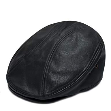 City Hunter Pml1200 Pamoa Faux Leather Escot Ivy Cap (3 Colors)